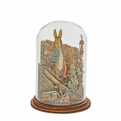 Peter Rabbit Peter Rabbit with Handkerchief  Wooden Figurine