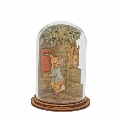 Peter Rabbit Peter Rabbit Posting Letter - Wooden Figurine