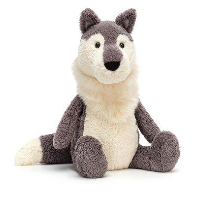 Jellycat - Super Softies Jellycat - Woodruff Wolf