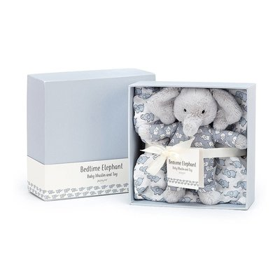 Jellycat - Baby Gift Jellycat - Bedtime Elephant Gift Set