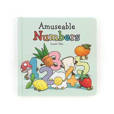 Jellycat - Baby Gift Jellycat - Amuseable Numbers Book