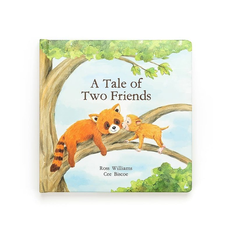 Jellycat - Story Book Jellycat - The Tale of Two Friends Story Book