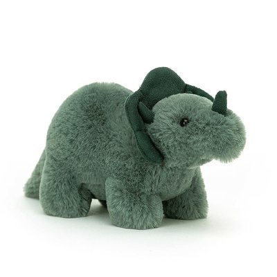Jellycat - Little Legs Jellycat - Fossilly Triceratops - Small
