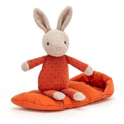 Jellycat - Dressed to Impress Jellycat - Snuggler Bunny