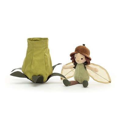 Jellycat - Dressed to Impress Jellycat - Petalkin Doll Acorn