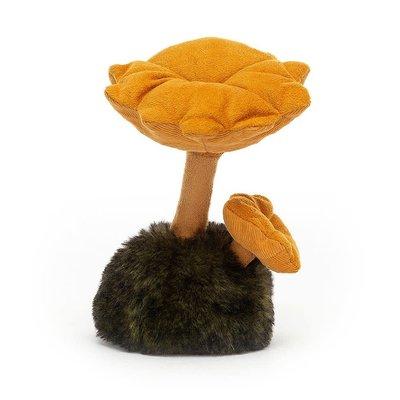 Jellycat - Woodland Jellycat - Wild Nature Chanterelle Mushroom