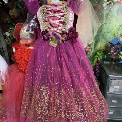 Amscan Plum Princess 4/6 years Outfit