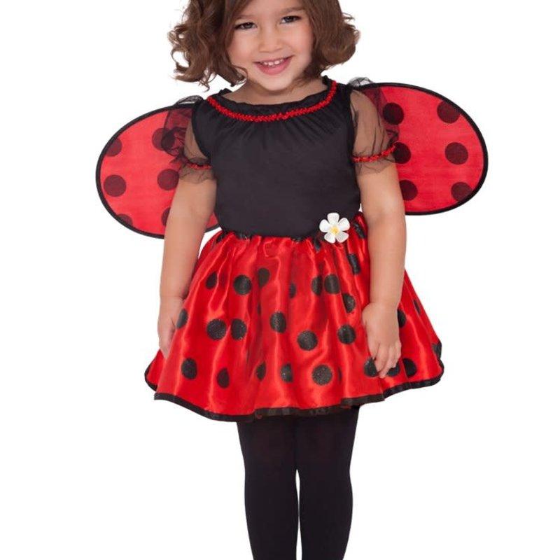 Amscan Little Ladybug Dress Costume - Age 2/3 years