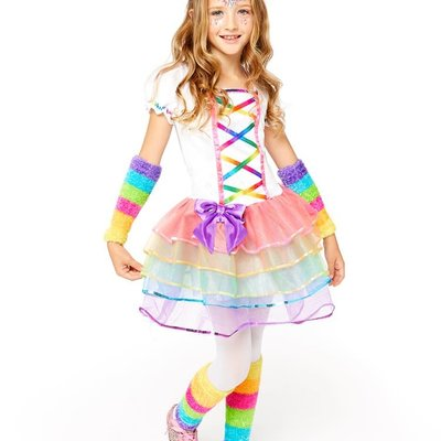 Amscan Rainbow Unicorn Costume 4/6 yrs