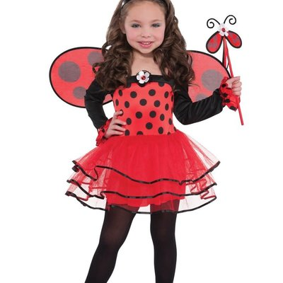 Amscan Ballerina Ladybug 3/4 Yrs