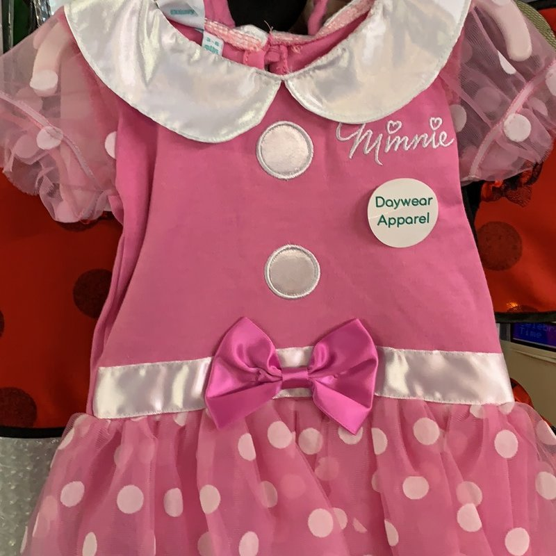 Disney Minnie Mouse Bodysuit Pink 6-9 mths Outfit