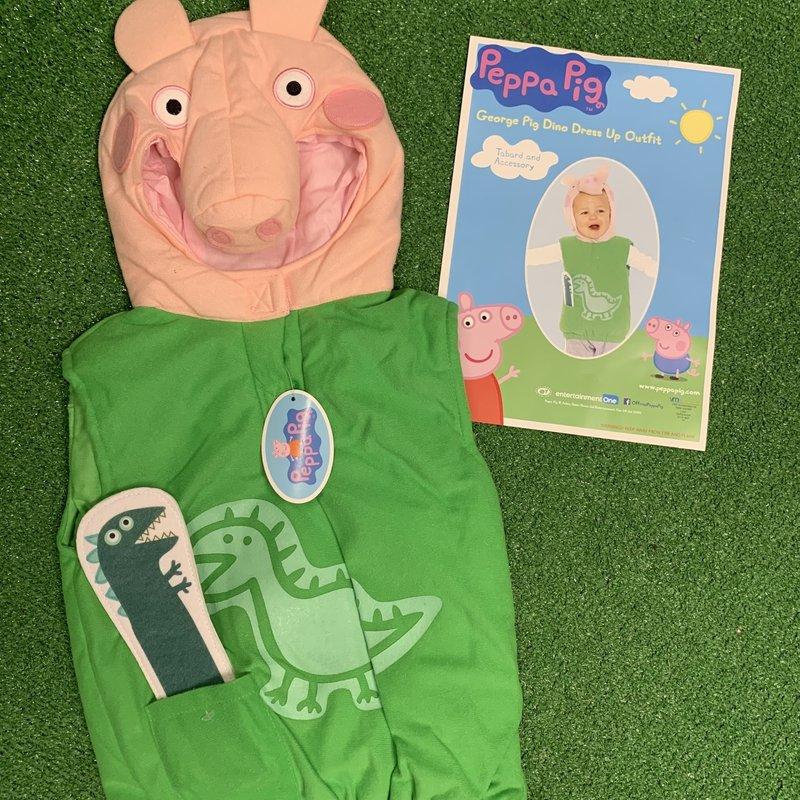 Peppa Pig George Pig Dino Dress Up Outfit