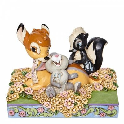 Disney Traditions Disney - Bambi & Friends Childhood Friends Figurine