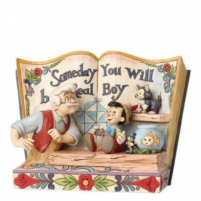 Disney Traditions Disney - Pinocchio Storybook - Someday You Will Be A Real Boy