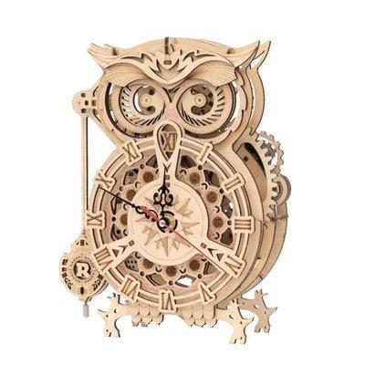 ROKR ROKR Owl Clock LK503 - Battery Mechanical Gears Kit