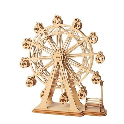 Rolife Rolife Ferris Wheel TG401 - 3D Wooden Puzzle Kit