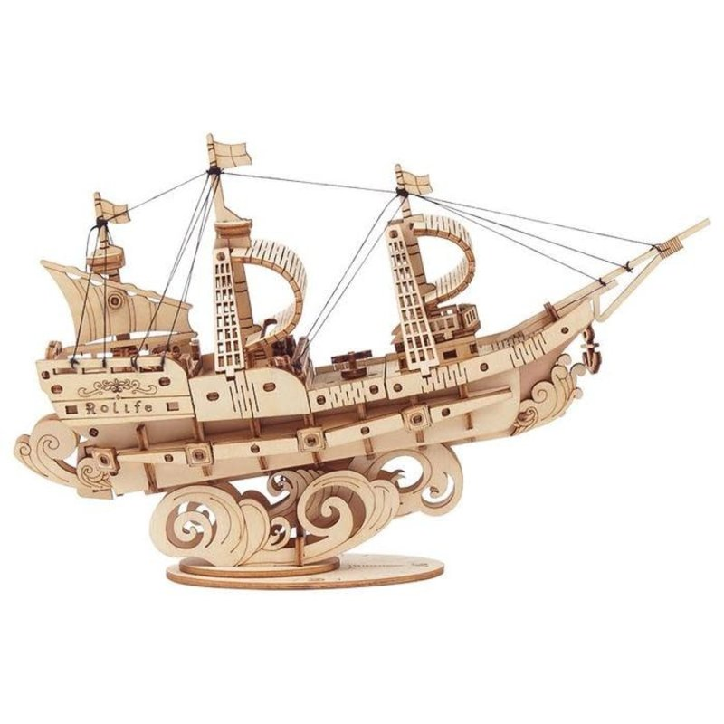 Rolife Rolife Sailing Ship TG305 - 3D Wooden Puzzle Kit