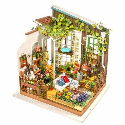 Rolife Rolife Miller's Flower House DG108 - DIY Garden Yard Miniature Kit