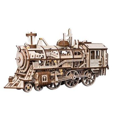 ROKR ROKR Locomotive Mechanical Model Kit LK701