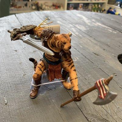 Papo Papo Tiger Mutant Figurine