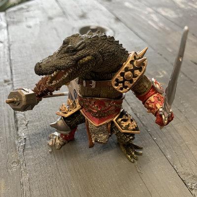 Papo Papo Crocodile Mutant Figurine