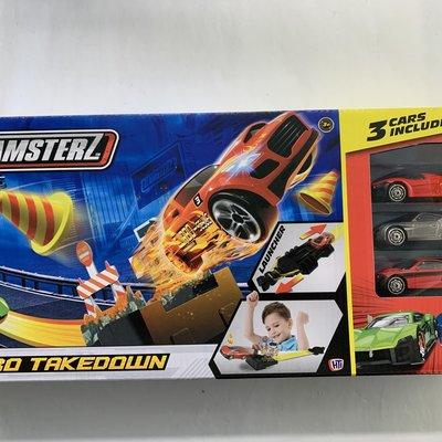 Teamsterz Turbo Takedown Track Playset