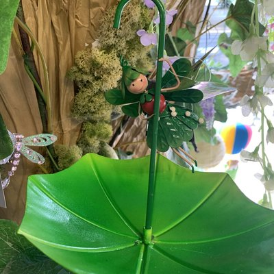 Fountasia Christmas - Fairy Umbrella Feeder - Mia