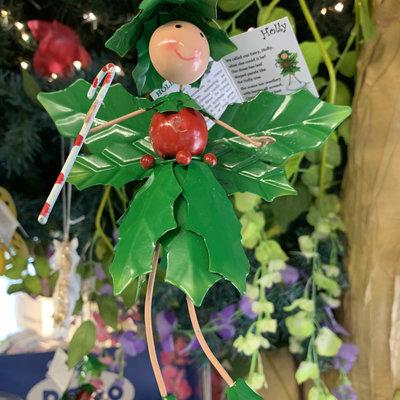 Fountasia Christmas - Holly the Holly Christmas Fairy Springer