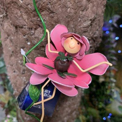 Fairy Kingdom Fairy Pot Hanger Rosie Rose