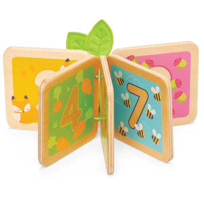 Petilou Wooden Counting Book