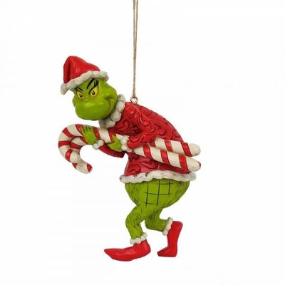 Dr. Seuss Grinch Stealing Candy Canes Decorations