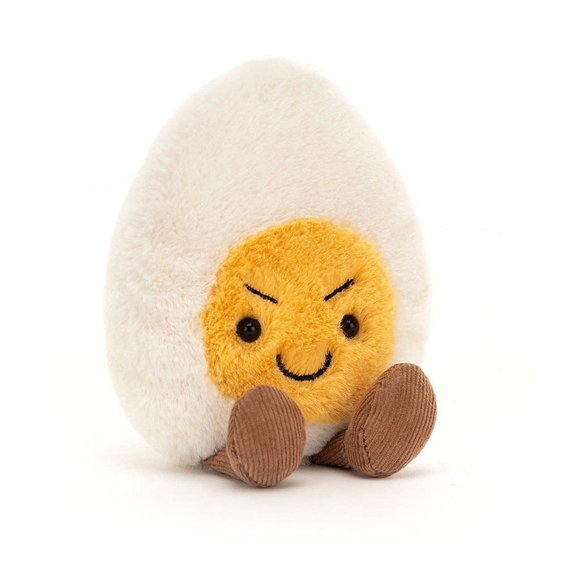 Jellycat - Fresh & Foodie Jellycat - Amuseable Boiled Egg Cheeky