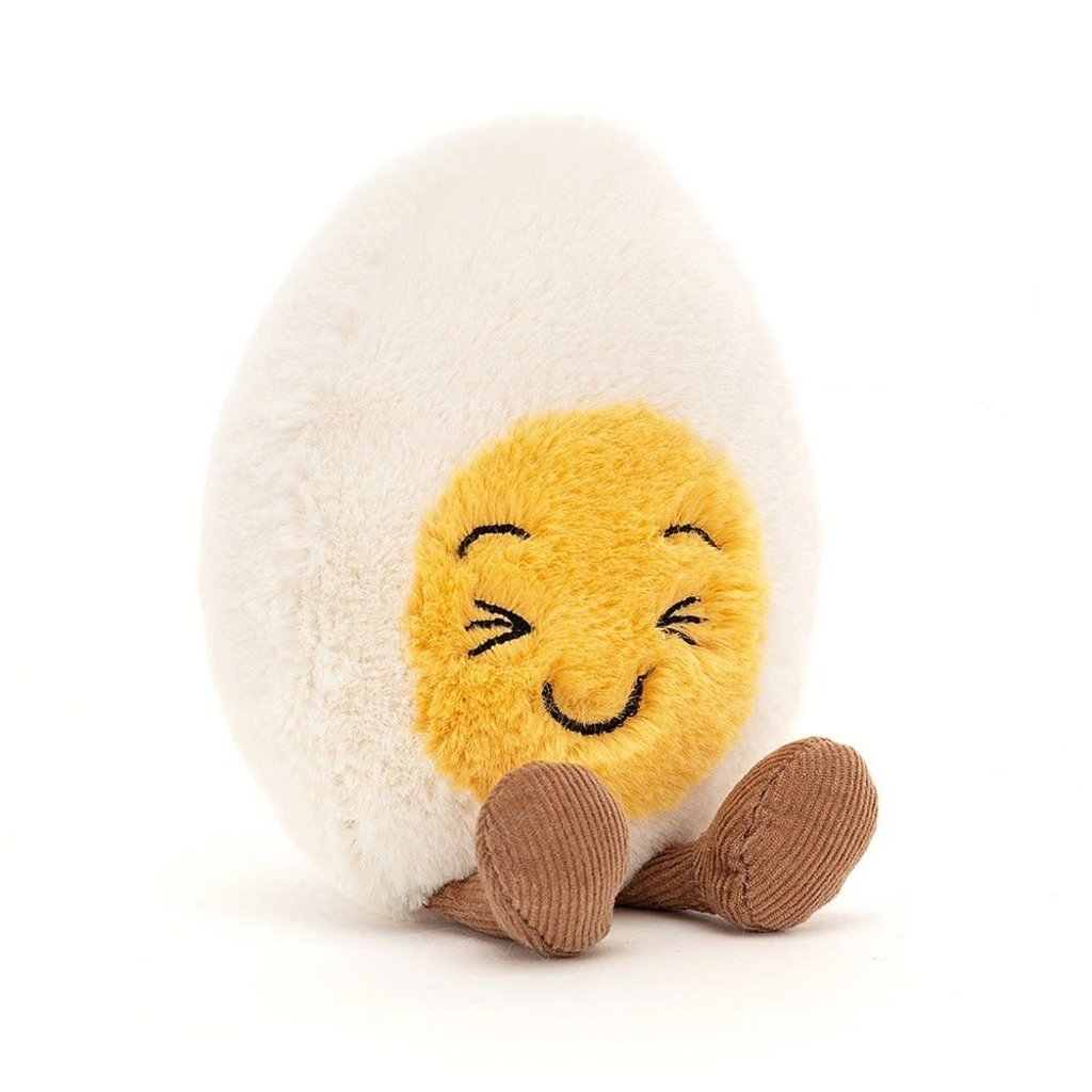 Jellycat - Fresh & Foodie Jellycat - Amuseable Boiled Egg Laughing