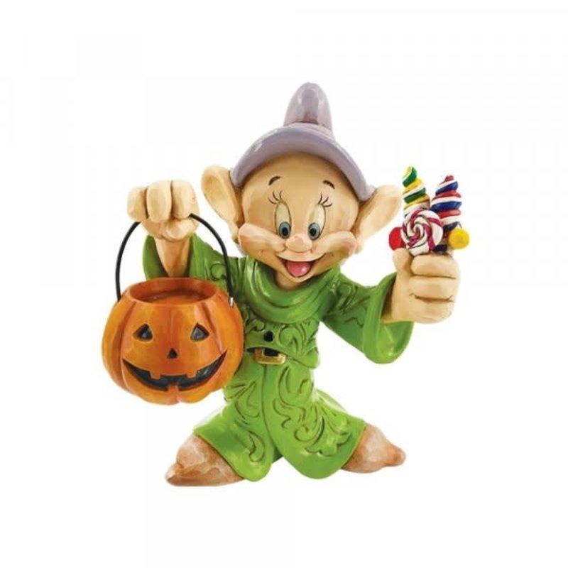 Disney Traditions Disney - Dopey Trick or Treating Figurine ( Snow White )