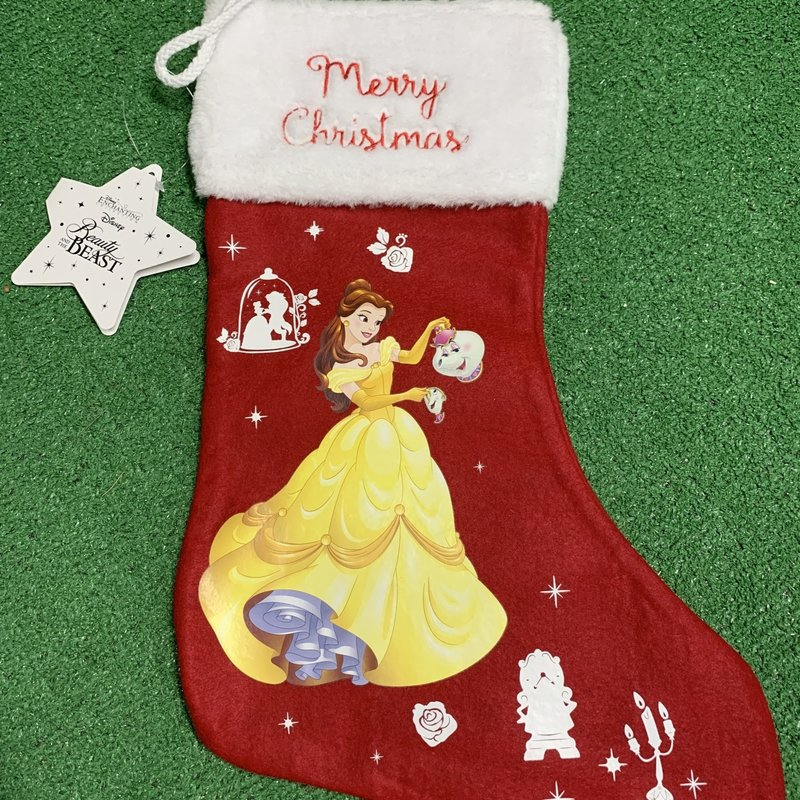 Disney Enchanting Collection Disney - Belle Christmas Stocking