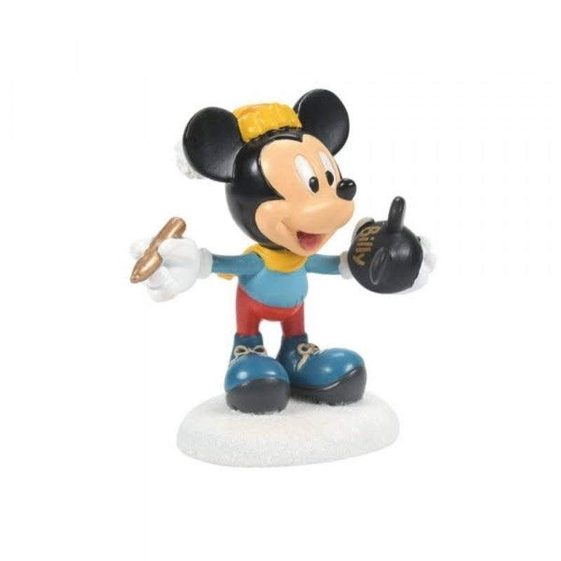 Disney Disney - Mickey's Finishing Touches Figurine