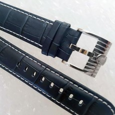 High quality leather Magrette straps in 22mm