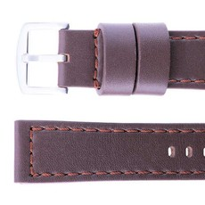 High quality leather Magrette straps in 24mm