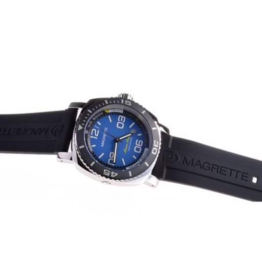 Rubber Magrette strap in 24mm