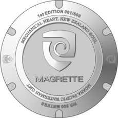 Magrette Moana Pacific Waterman Steel GMT Final payment