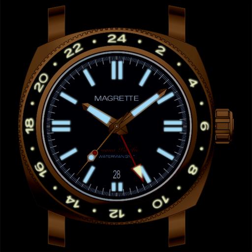 Magrette Moana Pacific Waterman Bronze GMT