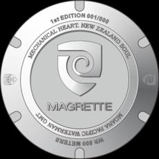 Magrette Moana Pacific Waterman Steel GMT