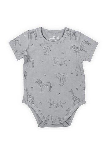 Romper Jollein Safari grey