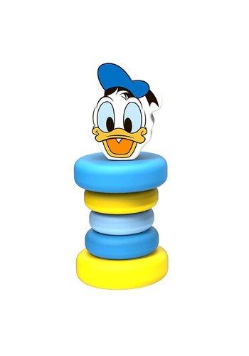 Houten rammelaar Donald