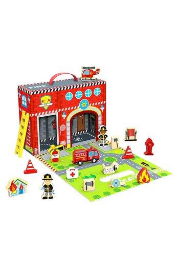 Fire station box