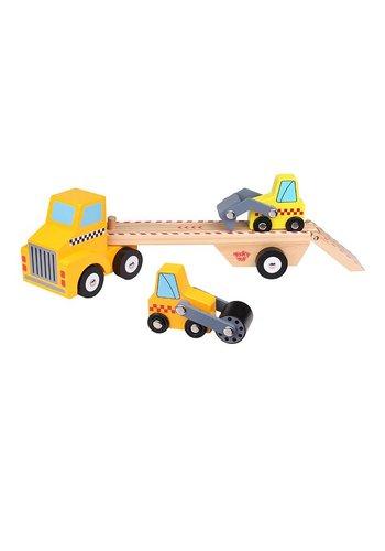 Bouwvoertuigen transporter