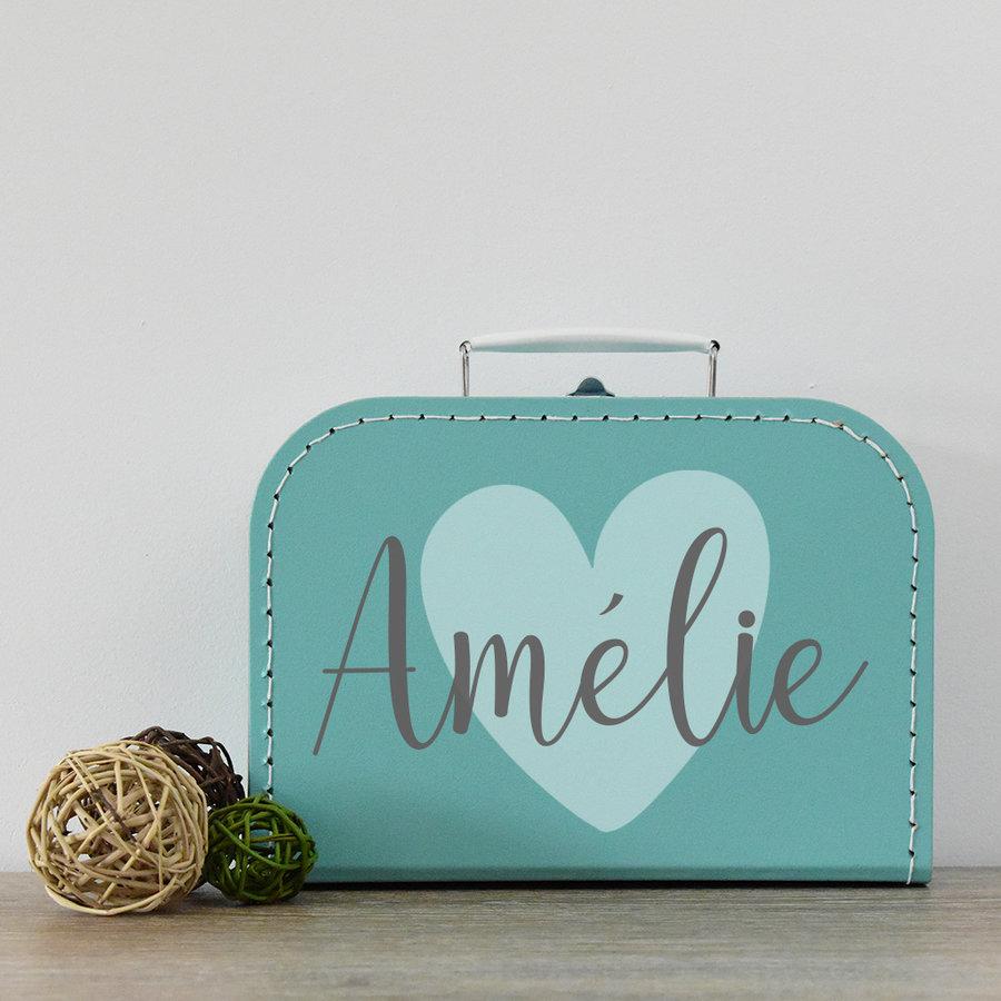 Koffertje met naam 'big heart'-2