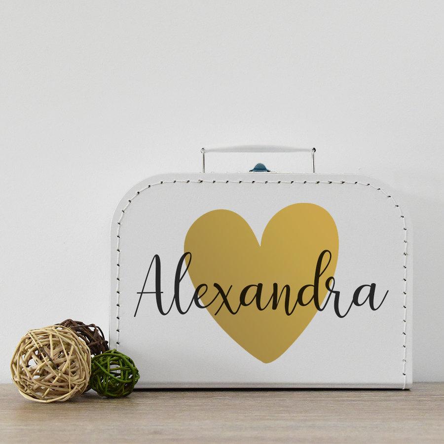 Koffertje met naam 'big heart'-6
