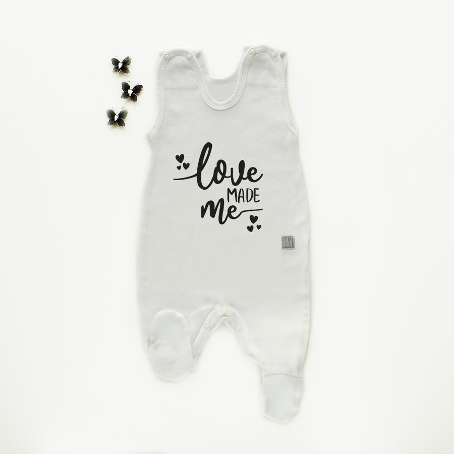 Boxpakje/sleepsuit 'Love made me'-1