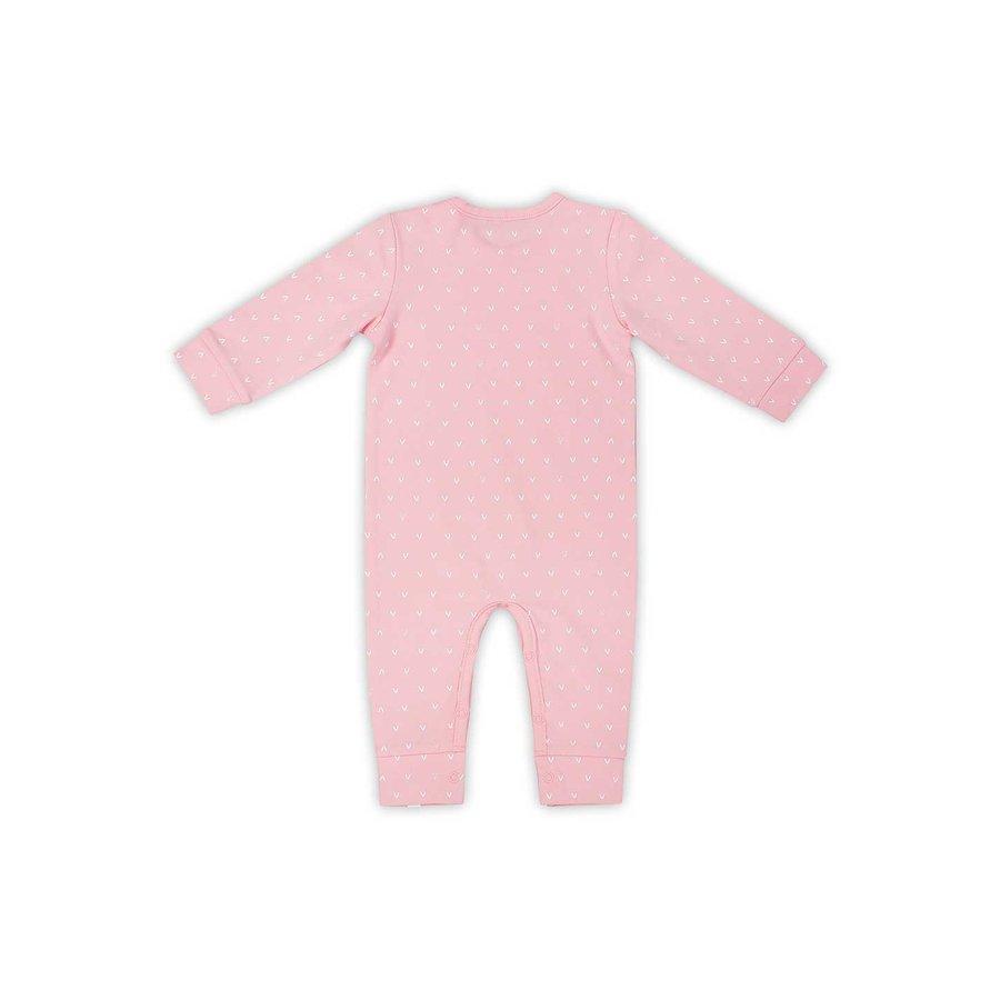 Playsuit Jollein hearts (pink)-3